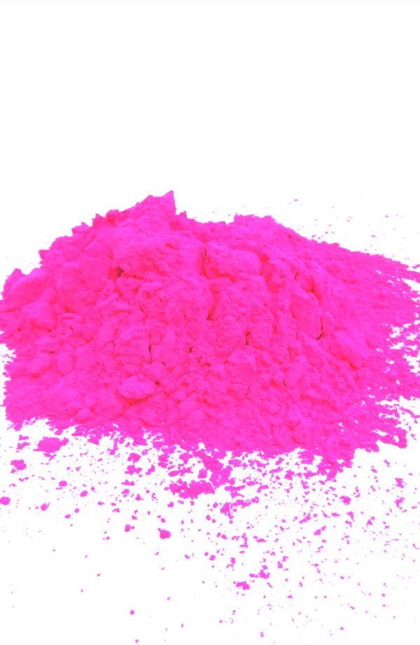 holi proszek Róż UV holi powder Neon Pink