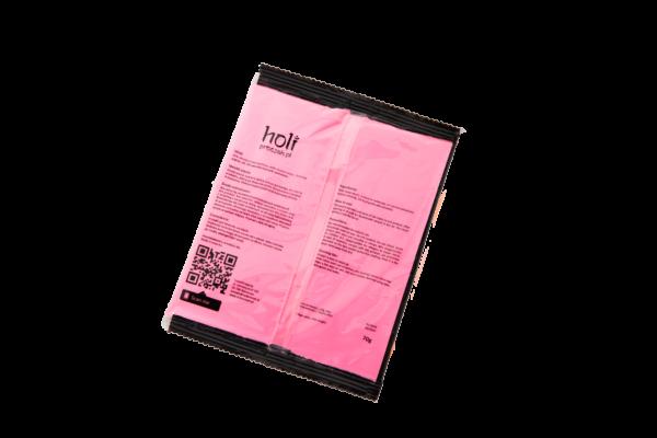 www.holiproszek.pl - Neon Pink Róż Neonowy UV 70g. Proszek Holi w kolorze fluorescencyjnego, świecącego w świetle ultrafioletowym (UV) neonowego różowego. Wysyłka w 24h
