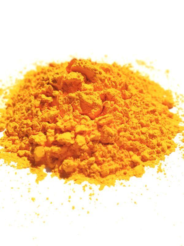 holi proszek Żółty Curry holi powder Gold