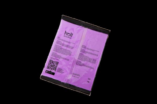 www.holiproszek.pl - Neon Purple Fiolet 70g. Proszek holi w intensywnym kolorze jasno fioletowym. Niska cena. Wysyłka w 24h. Zamów proszek Holi od holiproszek.pl